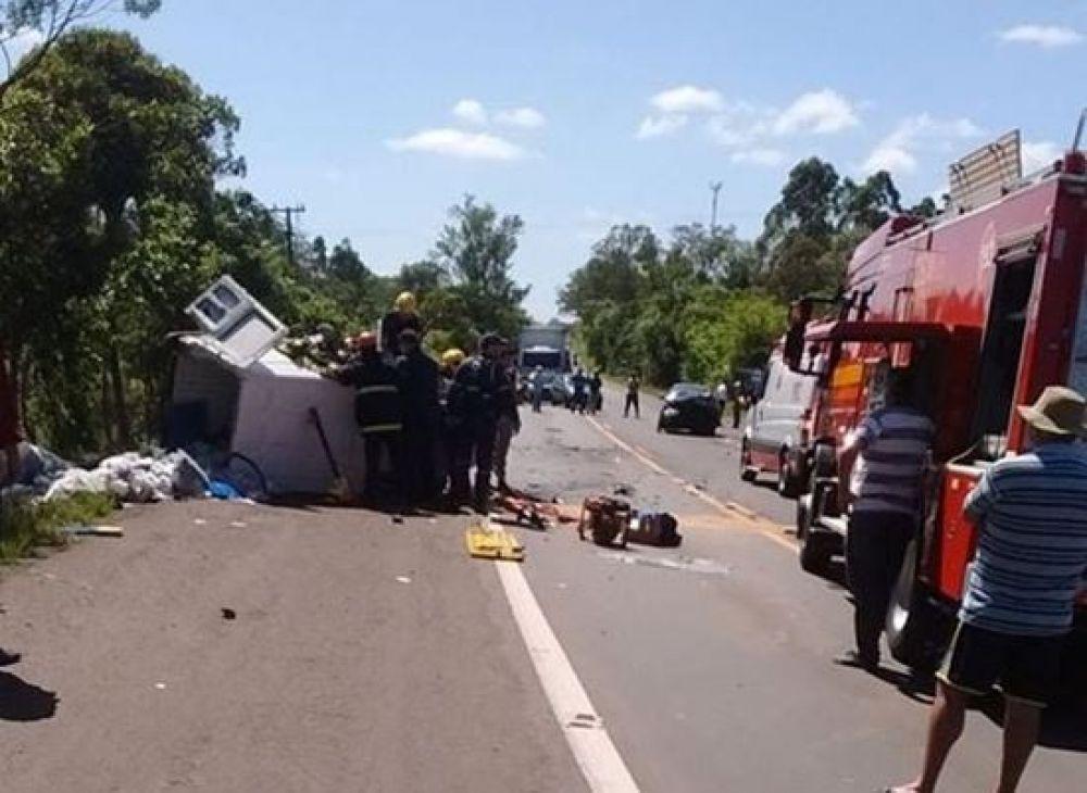 Cantor evangélico da Assembléia de Deus de Caxias do Sul morre em acidente na RS 240 – Foto: PRF