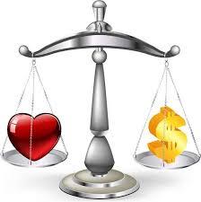 O que é mais importante na vida: amor ou dinheiro?