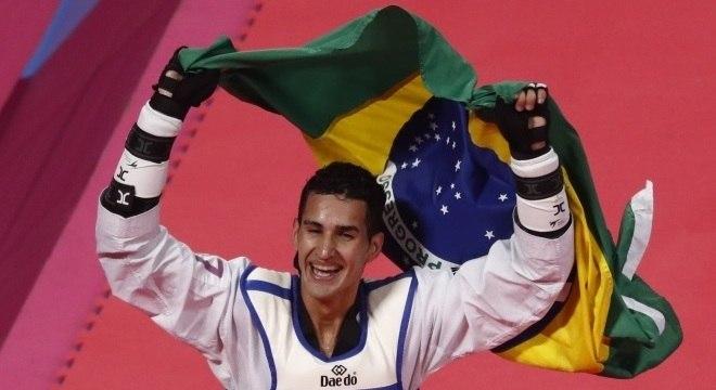 Netinho venceu dominicano por 17 a 14 na decisão pelo ouro Reuters/Susana Vera