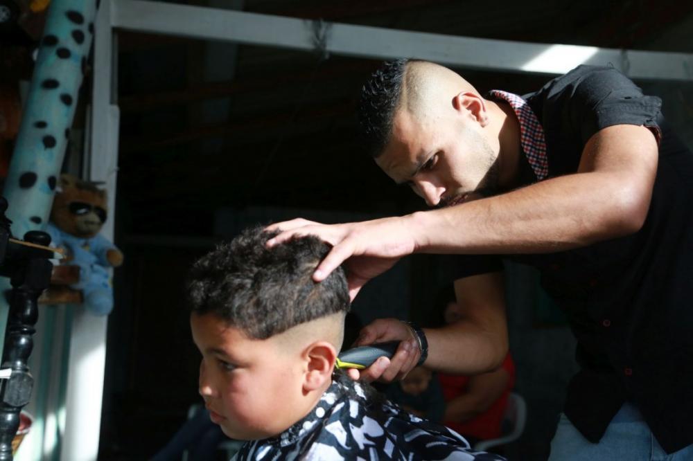 Wellington contou com a ajuda e também ajudou toda a família. Foto: Felipe Rosa/Tribuna do Paraná