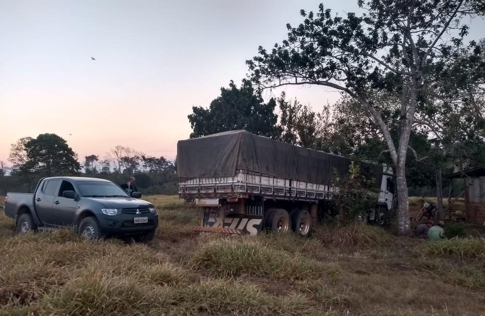 Quatro homens foram presos durante operação - Foto: Polícia Civil/Divulgação