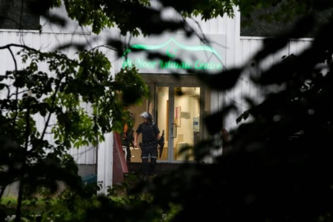 Mesquita na Noruega: ataque ainda não elucidado (AFP/AFP)