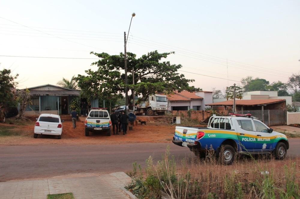 Operação Hefesto é realizada em Espigão D'Oeste para prender suspeitos de ataque ao Ibama - Foto: 4° BPM/Divulgação