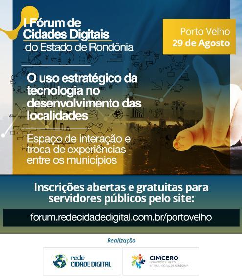 Divulgação Rede Cidade Digital