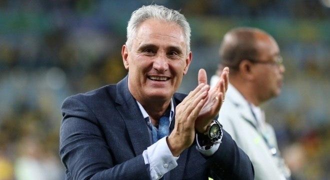 Tite está com moral após conquistar a Copa América Ricardo Moraes/Reuters
