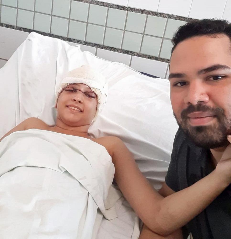 Eduardo estava com Débora no momento em que ocorreu o acidente de kart, no Recife - Foto: Eduardo Tumajan/Acervo pessoal