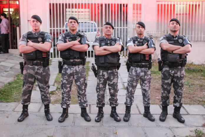 Curitiba, 30 de agosto de 2019. Despedida Sgt Daniel Rone. Reprodução: João Frigério