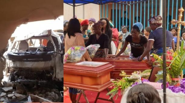 Tragédia causou além das mortes e dos feridos, situação difícil para as famílias da igreja. Foto: Reprodução