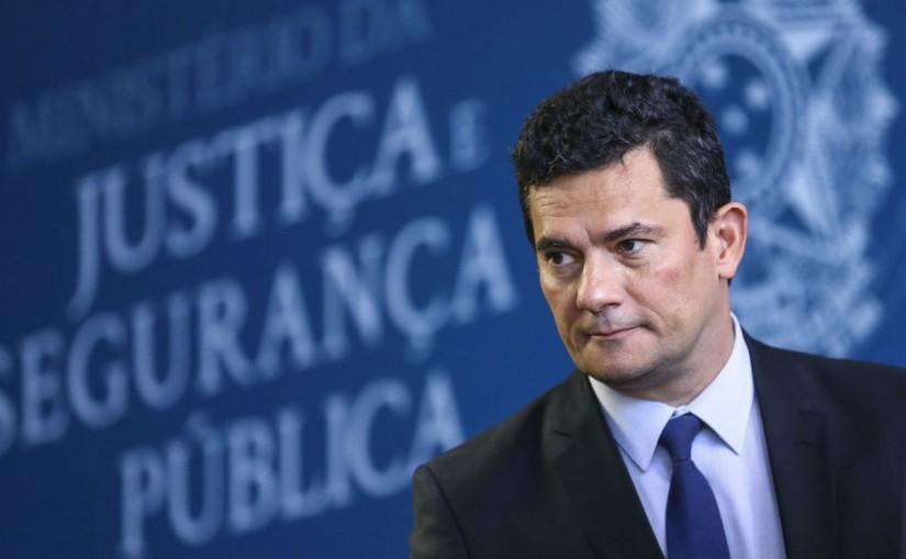 Ministro da Justiça, Sergio Moro. Foto: Agência Brasil