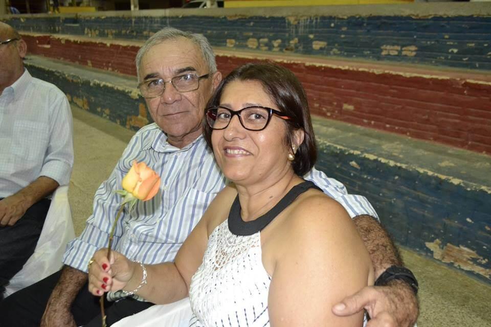 Anastácio Parente Sales e, Maria Cristina Gomes Sales. Vitimas fatais. Foto: Reprodução arquivo/pessoal