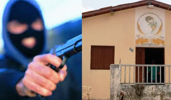"""""""Jesus me perdoe"""", disse um dos ladrões ao entrar na igreja, relatou o porteiro. Foto: ArteJM"""