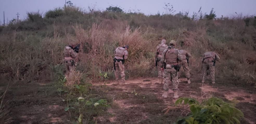 Operação Terra prometida cumpre mandados em Rondônia - Foto: PF/Divulgação