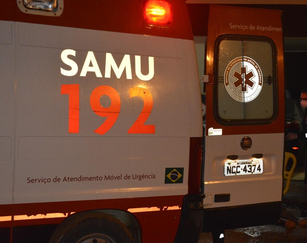 Equipe do Samu de Ariquemes constatou o óbito durante transferência - Foto: Ana Claudia Ferreira/G1