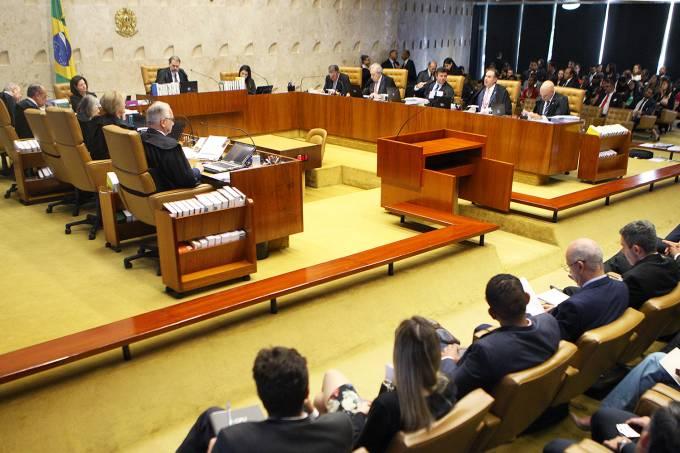 Plenário do STF vota julga caso de pensão para amantes Foto: STF/Nelson Jr