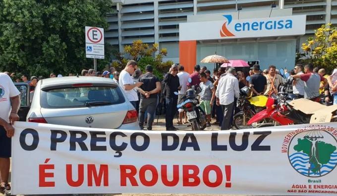 Protesto realizado em Porto Velho (RO) no dia 3 deste mês. Foto: Reprodução