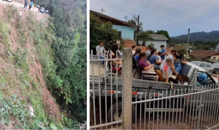 As Vítimas em estado greve foram encaminhadas de helicóptero para hospitais da região. (Foto: Divulgação/PRE)