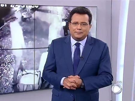 Geraldo Luis no Balanço Geral - Reprodução/Record