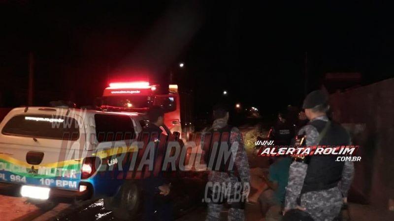 Entreveiro no Bairro Cidade Alta termina com dois homens baleados