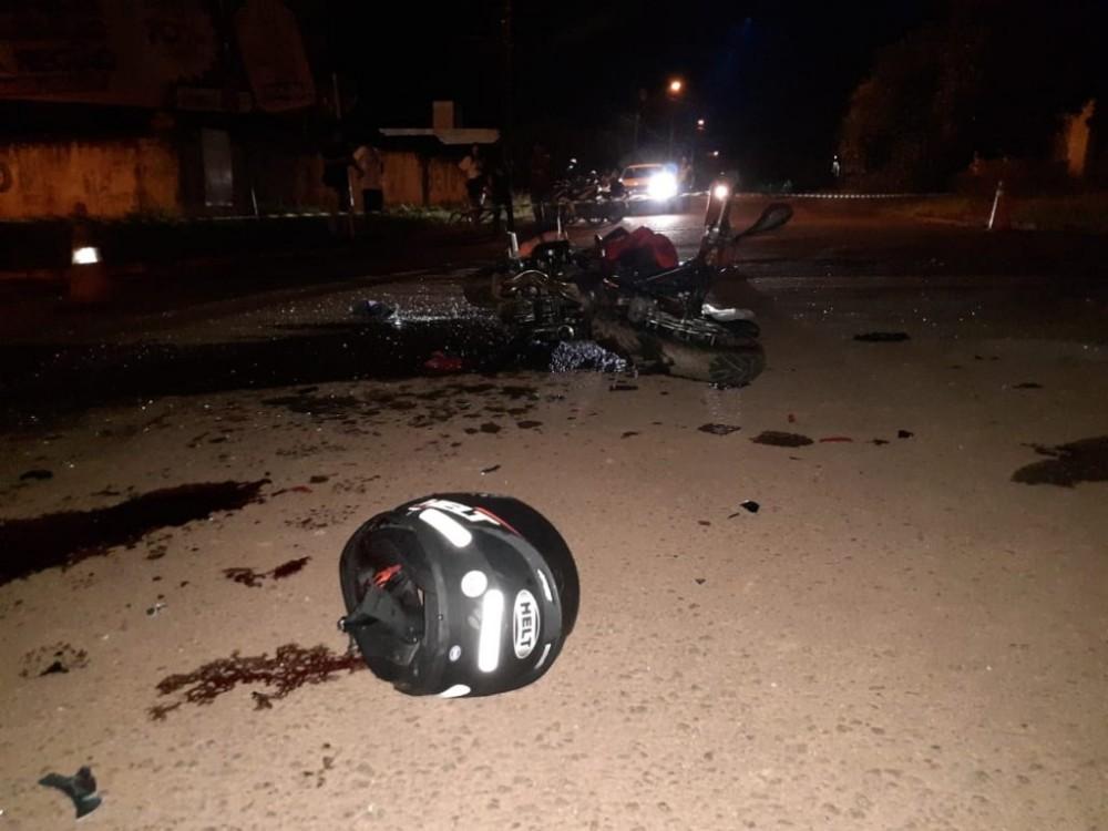 Mais um jovem perde a vida vítima do trânsito assassino