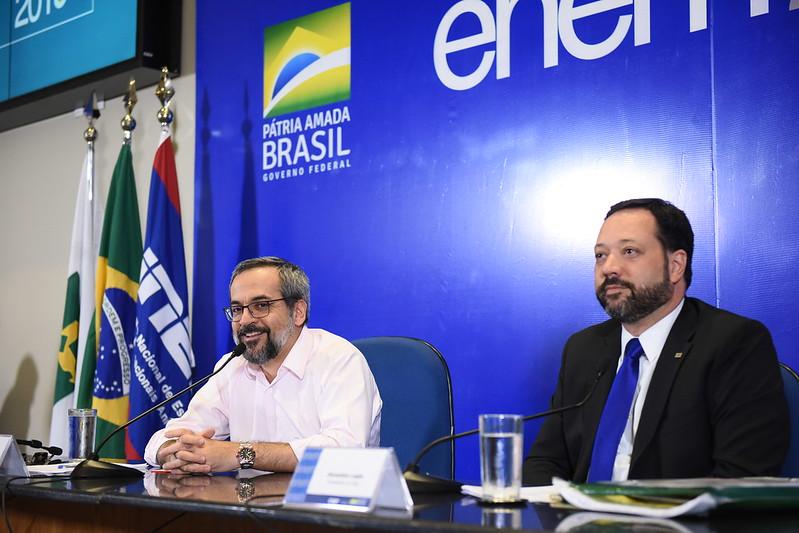 Primeiro dia de provas do Enem foi avaliado como sucesso Foto: MEC/Luis Fortes