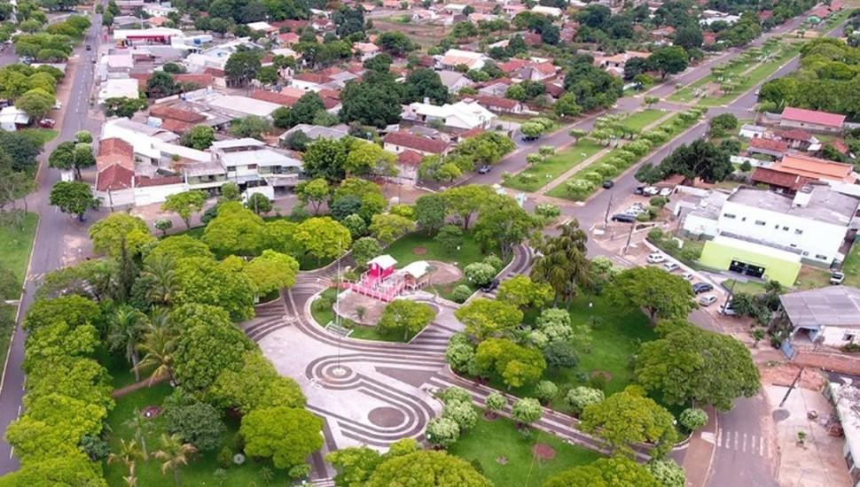 Alto Paraíso, que tem 3 mil habitantes, se separou de Umuarama em 1990 e é uma das cidades que correm o risco de extinção. Foto: Divulgação/Prefeitura de Alto Paraíso