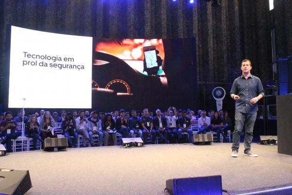 Marcelo Azambuja, diretor do Centro de Tecnologia da Uber em São Paulo (Foto: Lycio Vellozo Ribas)