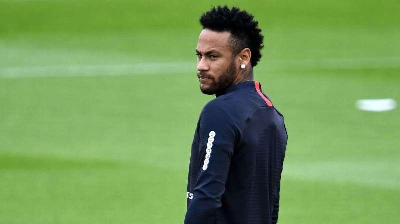 Neymar em treino do PSG© Getty Images