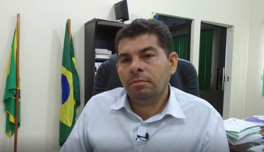 Alcides do Som, Chefe do Executivo por cinco anos consecutivos. Reprodução Assessoria