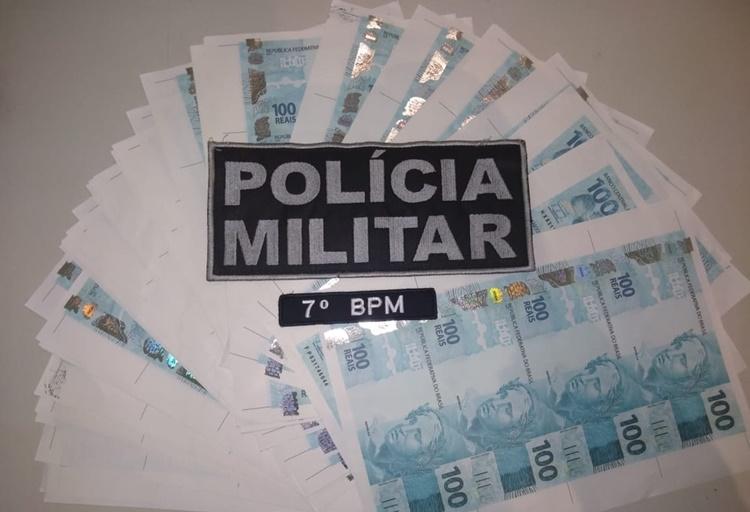 Empresário é preso após comprar R$ 20 mil em notas falsas pela internet em Alto Paraíso
