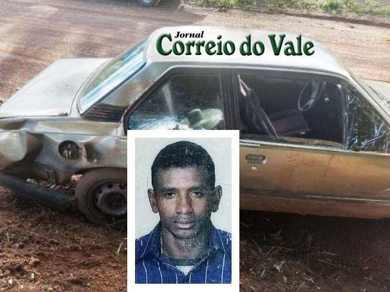 Homem morre após carro capotar na zona rural no interior de RO