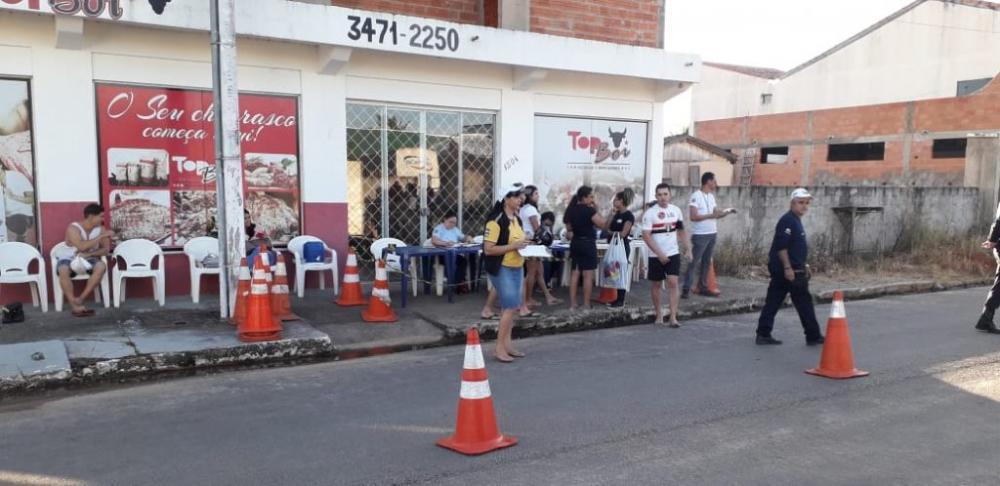 Blitz em Presidente Médice. Foto Mix de Rondônia