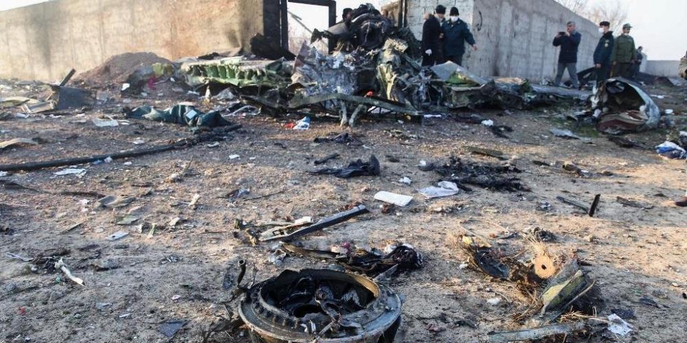 Destroços da aeronave foi encontrados em Chahriar | Foto: Rouhollah Vahdati / ISNA / AFP / CP