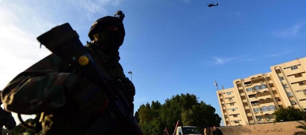 Ataque na noite desta quarta aconteceu perto da embaixada dos EUA em Bagdá MURTAJA LATEEF / EFE-EPA