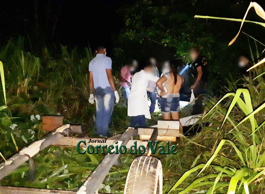 Corpo de mulher é encontrado sem cabeça dentro de rio, na RO-473 em RO