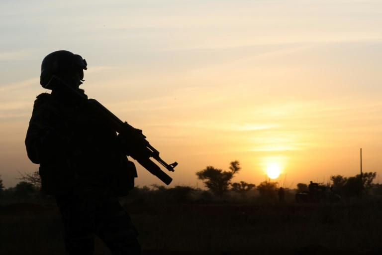 Soldado em Niamey em 22 de dezembro de 2019 - POOL/AFP/Arquivos