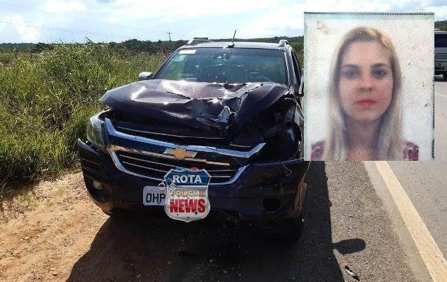 Identificada mulher que morreu atropelada por carreta após ter prestado apoio a vítimas de acidente
