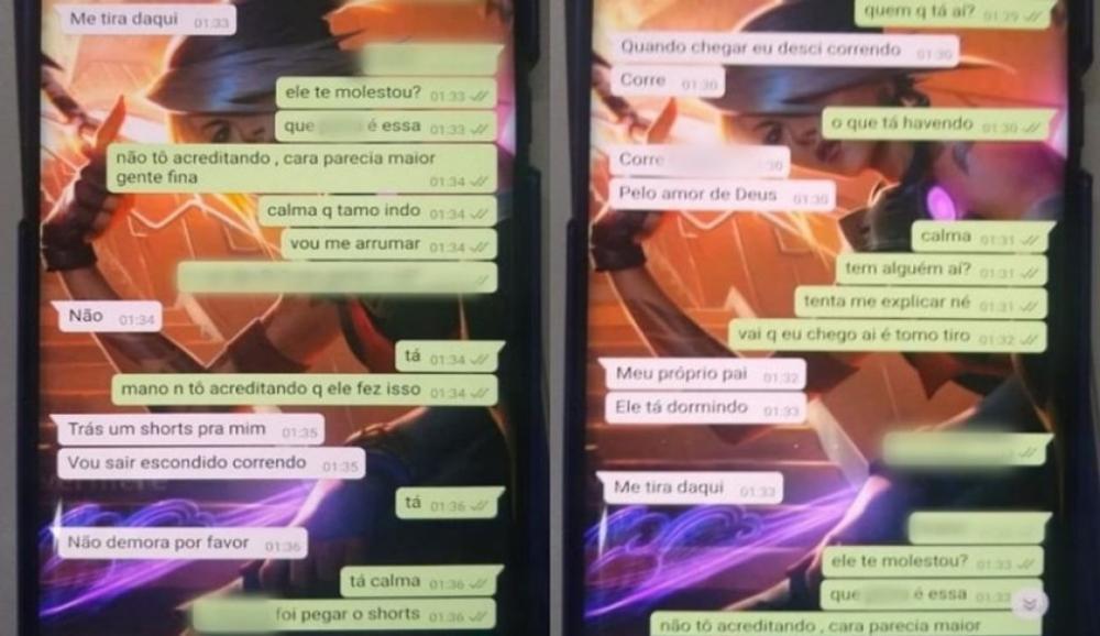 Pedido de socorro de vítima em Jundiaí. Foto: Reprodução/WhatsApp