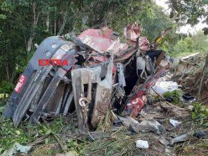 Motorista saiu ileso/Fotos: Extra de Rondônia
