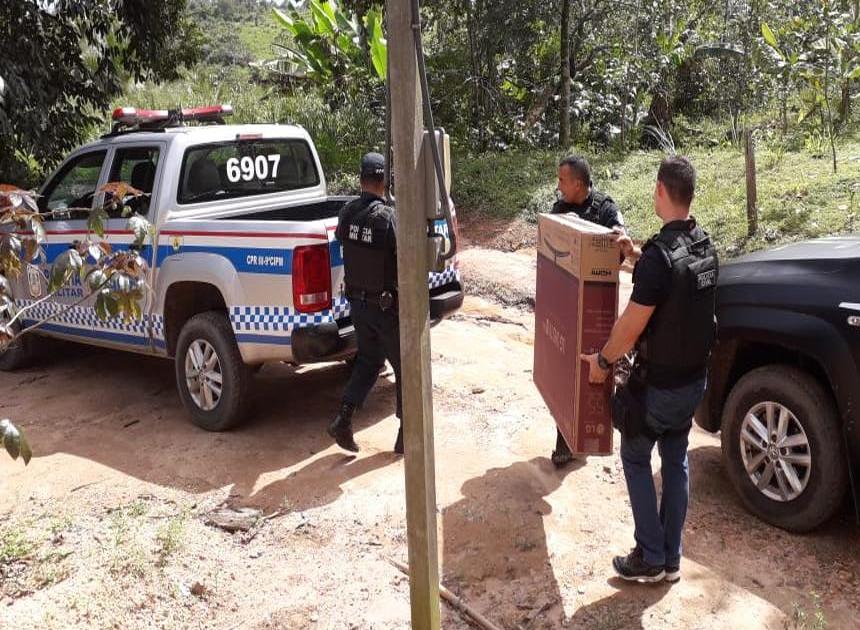 Prisões foram efetuadas este sábado (Divulgação - Polícia Civil)