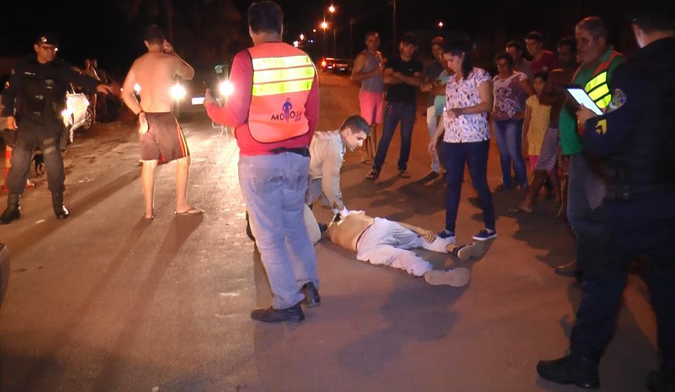 Homem de 55 anos morre após grave acidente na Av. das Comunicações em Cacoal