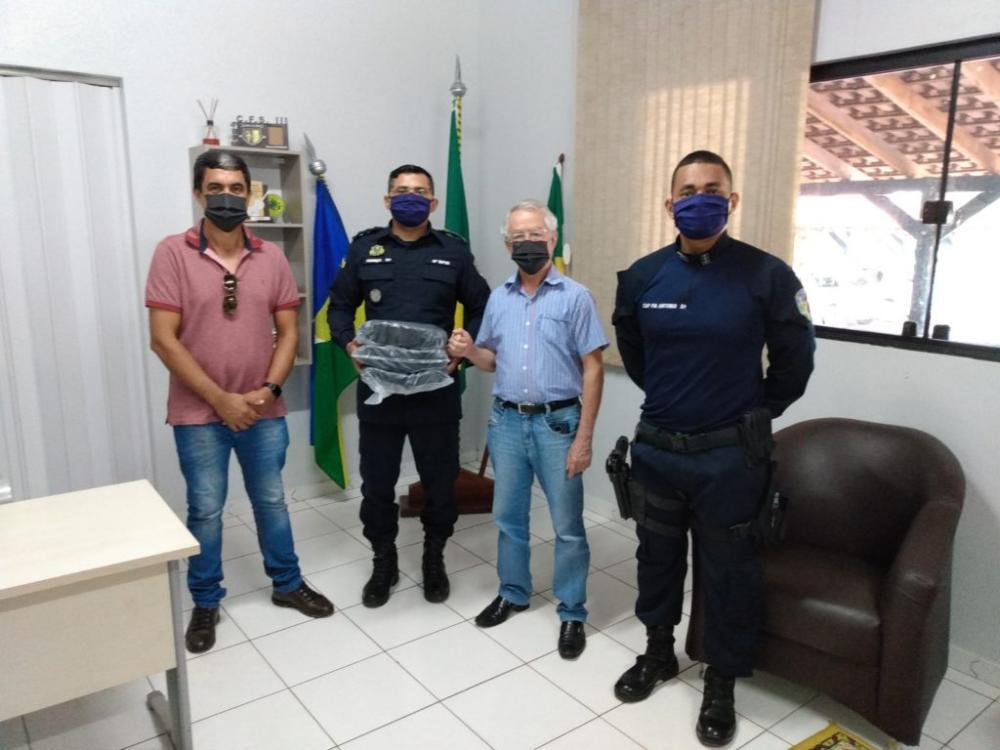 Poder judiciário e empresários doam equipamentos de proteção individual à Policia Militar em RO