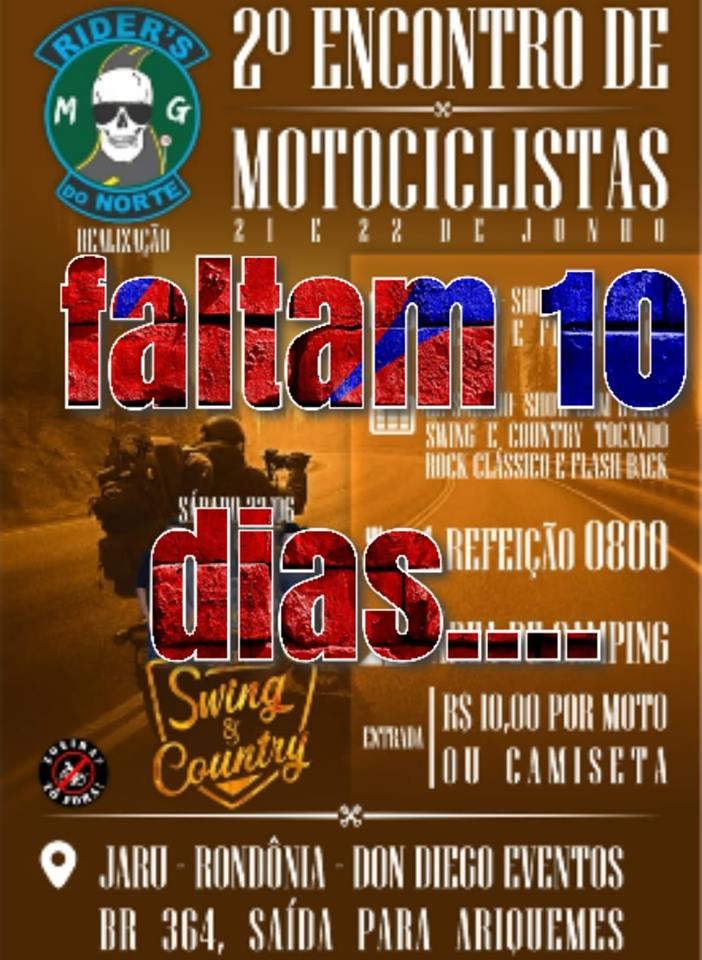 Convite Evento Rider's do Norte RO