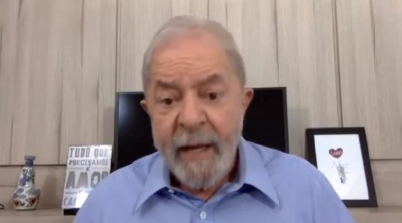 """Em falácia de democracia Lula diz que Ciro escolheu o voto de quem odeia o PT: """"Que vá com Deus"""""""