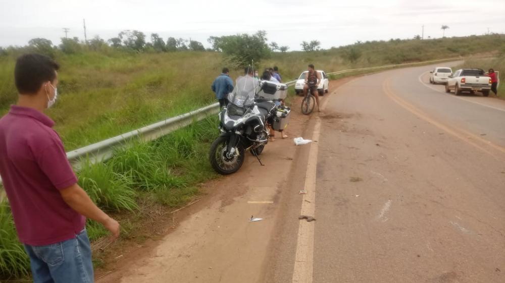 Corpo de Wilson Evaristo vítima de acidente de moto já foi liberado para o velório