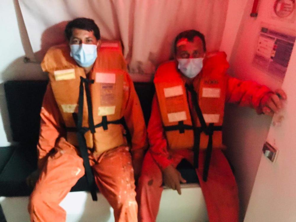Pescadores capixabas que estavam à deriva em alto mar são resgatados por embarcação chinesa