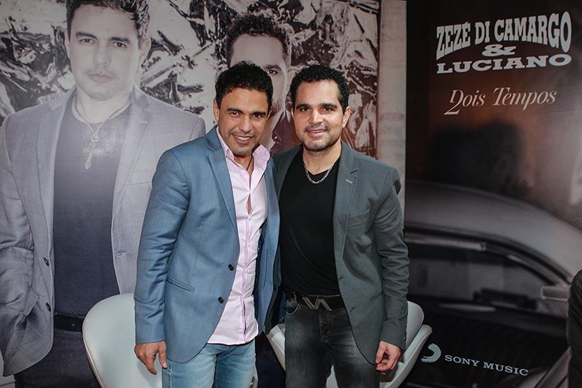 Luciano faz dupla sertaneja com Zezé Di Camargo AGNEWS