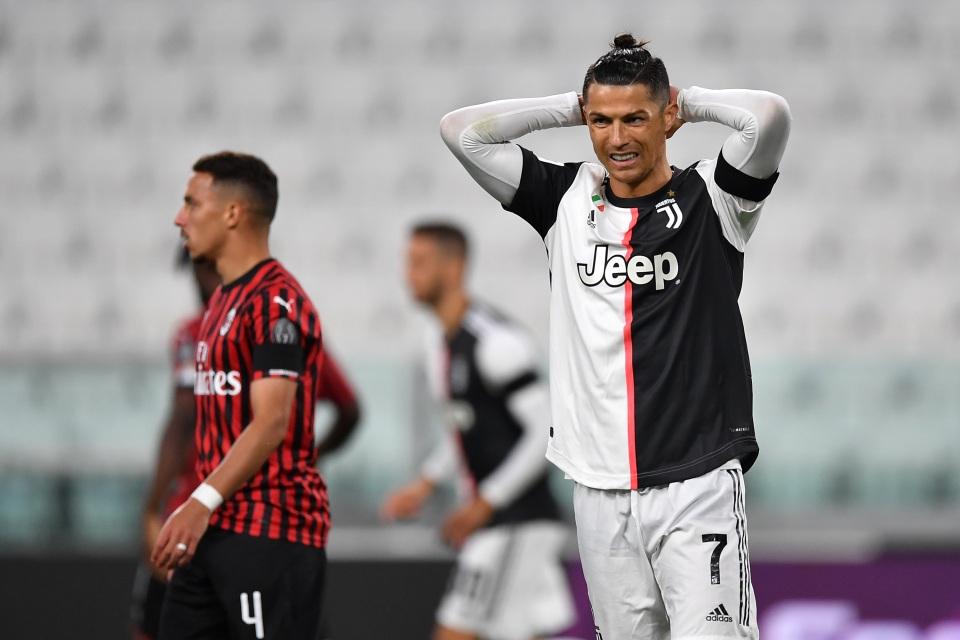 Cristiano Ronaldo, Juventus. Valério Pennicino / Getty Images