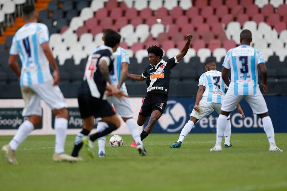 A volta do Vasco ao Campeonato Carioca não poderia ter sido melhor para o Cruzmaltino. Reprodução