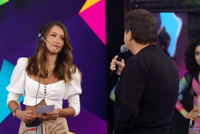 Daiane de Paula, de 29 anos, passa a atuar na comunicação interna do 'Domingão do Faustão' - Divulgação / TV Globo