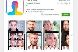Dados captados pelo FaceApp possuem potencialmente um valor financeiro ainda mais elevado. Reprodução Google